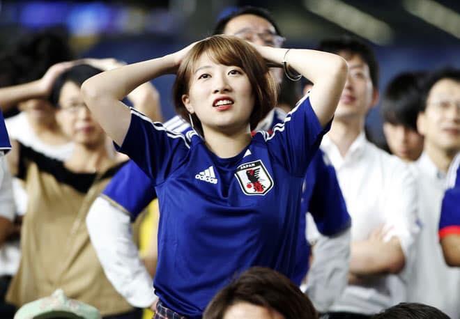 Gái xinh xem world cup
