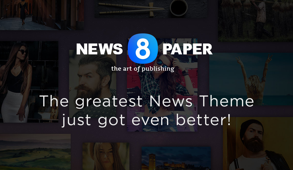 Newspaper 8 wordpress theme free
