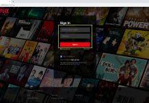 Đăng nhập Netflix trên trình duyệt