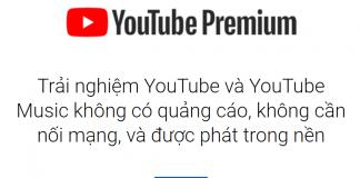 Mua youtube premium
